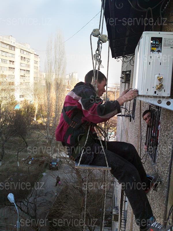 Монтаж кондиционеров в Ташкенте