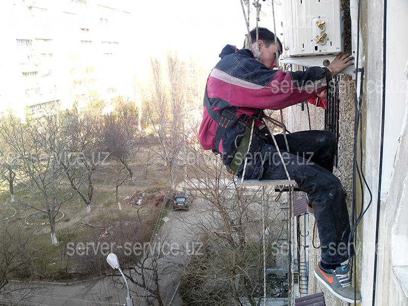 Монтаж кондиционера в Ташкенте