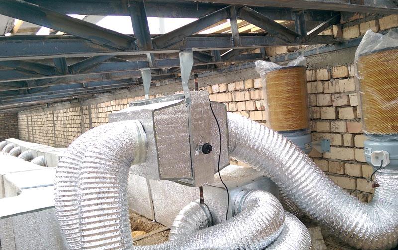 Фильтрация воздуха в системе вентиляции