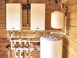 Установка газовых водонагревателей